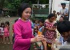 Distribution of school supplies