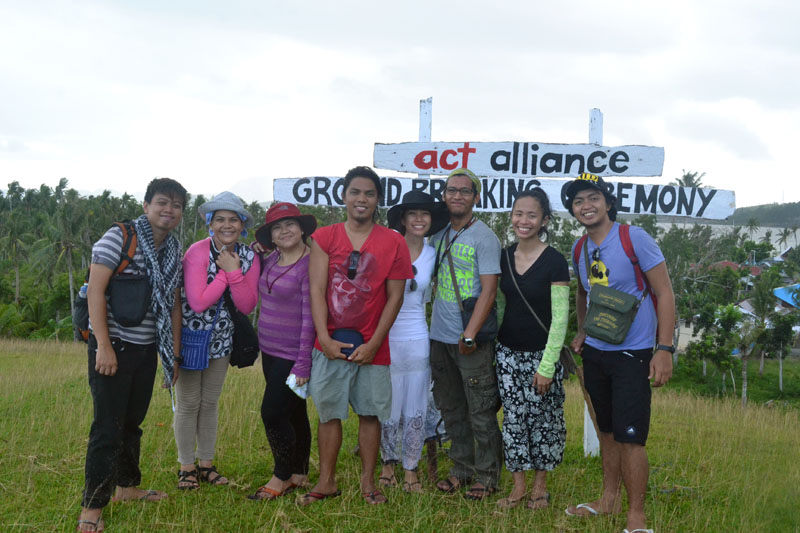 Helping Rebuild the Community of Yolanda Survivors